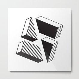 A & A Metal Print