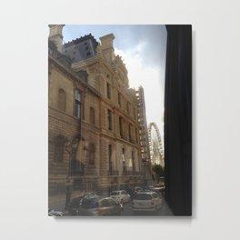 Rolling around in Paris Metal Print