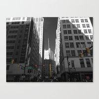 detroit Canvas Prints featuring Detroit  by Galaxys_Limit