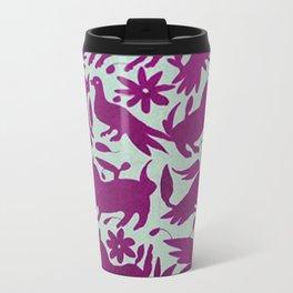 Otomi Magenta Travel Mug