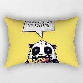 comingsoon panda Rectangular Pillow