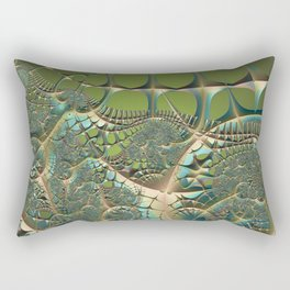 Nourishing new ideas and connections Rectangular Pillow