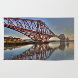 The Forth Rail Bridge Rug