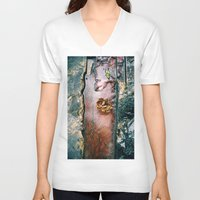 conan V-neck T-shirts featuring La Gran Sabana by David Hernández-Palmar