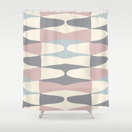Zaha Pastel Shower Curtain
