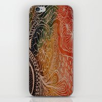 tie dye iPhone & iPod Skins featuring Tie Dye  by sarahlou_0812