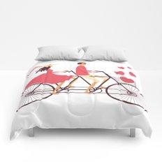 Love Couple Comforters