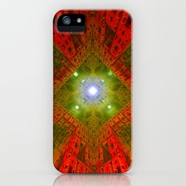 Glare through Bricks iPhone Case