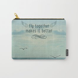 Fly togheter Carry-All Pouch