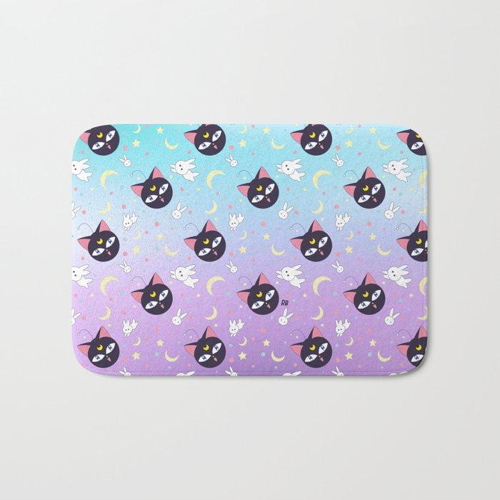 Luna P Cute Pattern Bath Mat