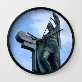 Viking God Wall Clock