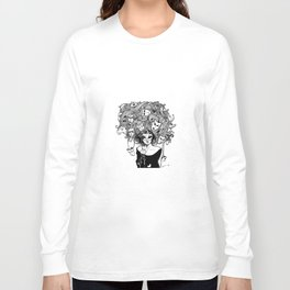 I think people make their own faces, as they grow Long Sleeve T-shirt