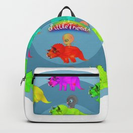 Triceratops Baby Backpack