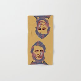 Henry David Thoreau Hand & Bath Towel