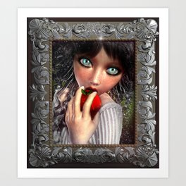 """Snow White"" Limited Edition Art Print"