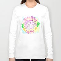 foo fighters Long Sleeve T-shirts featuring Little Bunny Foo-Foo by Lauren Campbell Creations