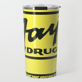 Fay's Drugs | the Immortal Yellow Bag Travel Mug
