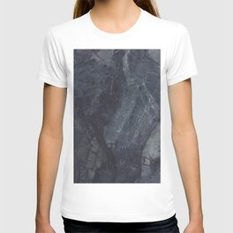 Navy Blue Marble T-shirt