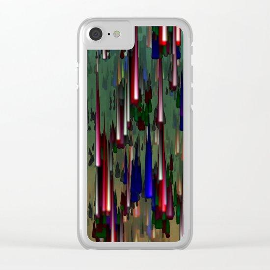 Raining Fiesta / Autumn 20-10-16 Clear iPhone Case
