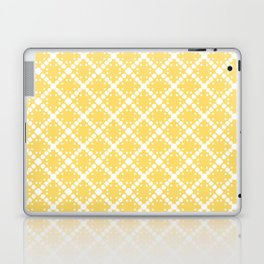 yellow square Laptop & iPad Skin