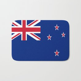 The Flag of New Zealand Bath Mat