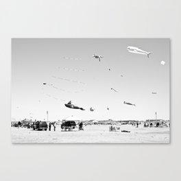 ocean shores (four) Canvas Print