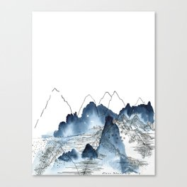 Love of Mountains Canvas Print
