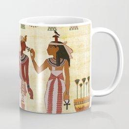 egyptian design man woman priest Coffee Mug