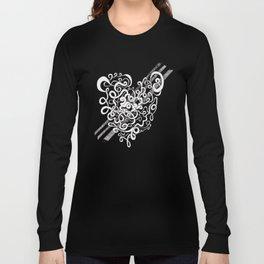 Heart Slicing Long Sleeve T-shirt