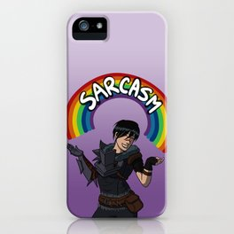 I'm very charming, I'm told iPhone Case