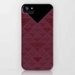 a+b+c+ac+abc (mod 4) (plum) iPhone Case