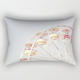 Vintage Ferris Wheel Rectangular Pillow