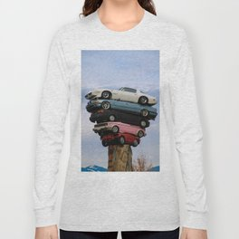 car pile Long Sleeve T-shirt