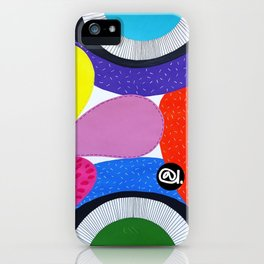 CRAZY COLORFUL iPhone Case