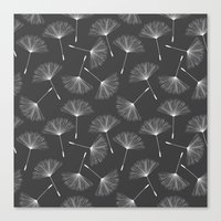 dandelion Canvas Prints featuring Dandelion by Rceeh