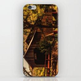 Honey Run Covered Bridge iPhone Skin
