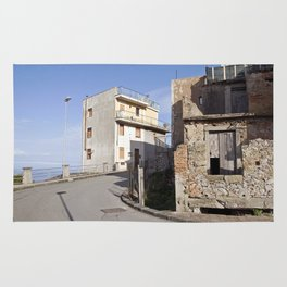 Little Village at the Sea - Forza d'Agro - Sicily  Rug