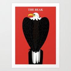 The Beak Art Print