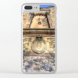 Edinburgh Castle Royal Airforce Clear iPhone Case