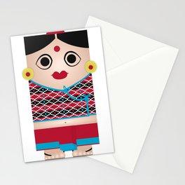 Nepali Girl Stationery Cards
