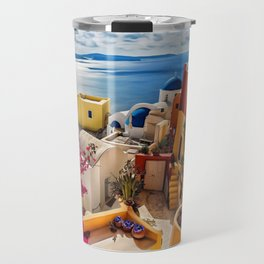 Santorini Travel Mug