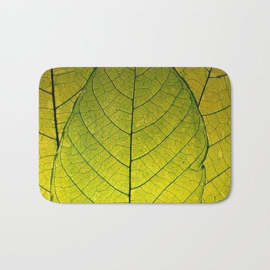 Every Leaf a Flower Bath Mat