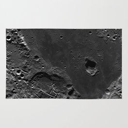 The Dark Side Of The Moon (Mare Moscoviense) Rug