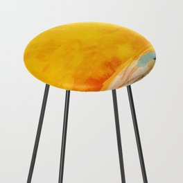 sunny landscape Counter Stool