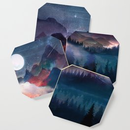 Mountain Lake Under the Stars Coaster