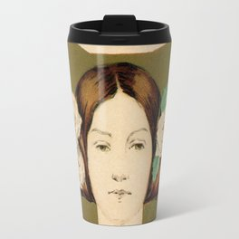 1895 Buffalo Courier for women  New York Travel Mug