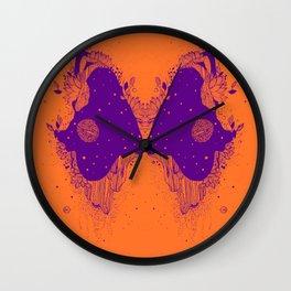 Universe eyes Wall Clock