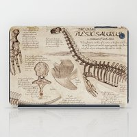 "notebook iPad Cases featuring Loch Ness Monster: ""The Living Plesiosaurus"" - The lost notebook account by Taylor Morgan"
