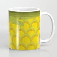pineapple Mugs featuring Pineapple by Kakel