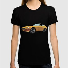 Dastun 240Z Fairlady Z 280Zx JDM Classic Japaense Car 240 Tuner Turbo Mechanic Classic Import T-shirt